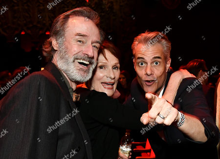 Harry Goaz, Wendy Robie and Dana Ashbrook