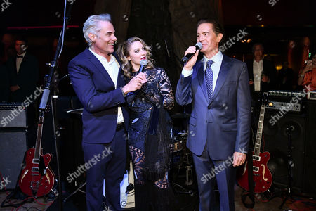 Stock Picture of Dana Ashbrook, Madchen Amick and Kyle Maclachlan