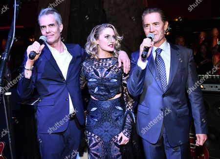 Stock Image of Dana Ashbrook, Madchen Amick and Kyle Maclachlan