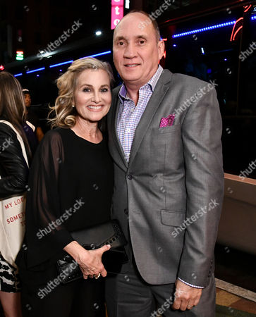 Stock Photo of Maureen McCormick and Cullen Douglas