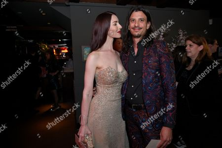 Stock Image of Chrysta Bell and Joseph Skorman