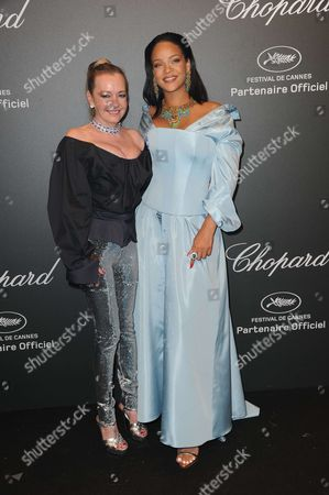 Caroline Gruosi-Scheufele and Rihanna