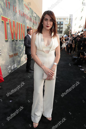 Editorial image of Showtime's 'Twin Peaks' TV show premiere, Arrivals, Los Angeles, USA - 19 May 2017