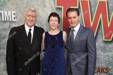 David Lynch, Sabrina S. Sutherland, Kyle Maclachlan