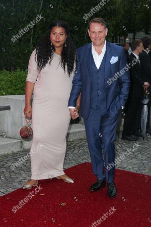 Devid Striesow mit Ines Ganzberger