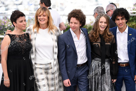 Editorial photo of 'April's Daughter' photocall, 70th Cannes Film Festival, France - 20 May 2017