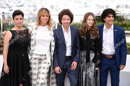 Joanna Larequi, Emma Suarez, Michel Franco, Ana Valeria Becerril and Enrique Arrizon