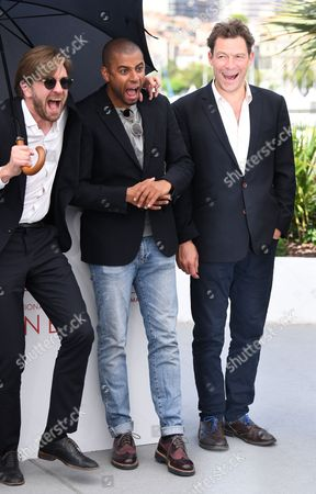 Ruben Ostlund, Christopher Laesso and Dominic West