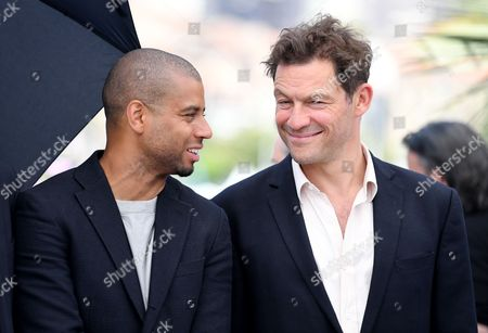 Christopher Laesso and Dominic West