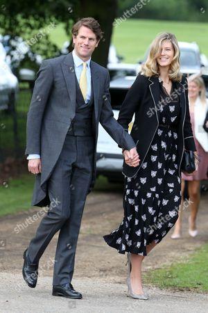 Nicholas Wilkinson and Olivia Hunt
