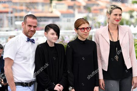Editorial photo of 'They' photocall, 70th Cannes Film Festival, France - 20 May 2017