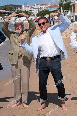 Arnold Schwarzenegger and Jean-Michel Cousteau