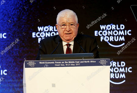 Editorial photo of World Economic Forum on the Middle East and North Africa, Dead Sea, Jordan - 20 May 2017