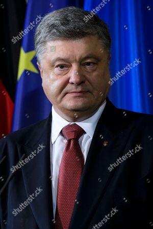 Praesidenten der Ukraine Petro Poroschenko