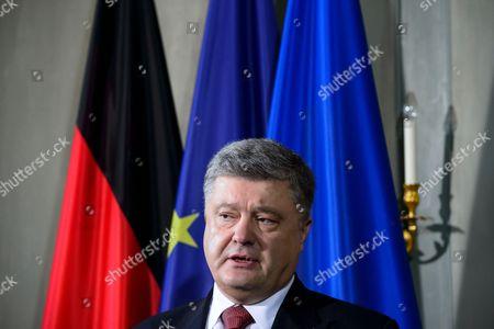 Stock Photo of Praesidenten der Ukraine Petro Poroschenko