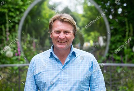 David Domoney, designer of the CWWG garden. The Commonwealth War Graves Commission Centenary Garden celebrates 100 years since its foundation by Royal charter.It continues to care for 1.7 million war dead in more than 150 countries. Th