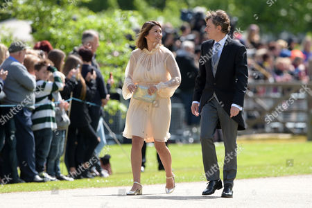 Stock Picture of Rebecca Deacon arrives at the wedding