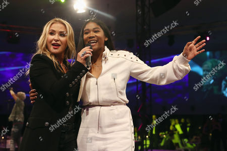 Stock Picture of Anastacia; Rose May Alaba