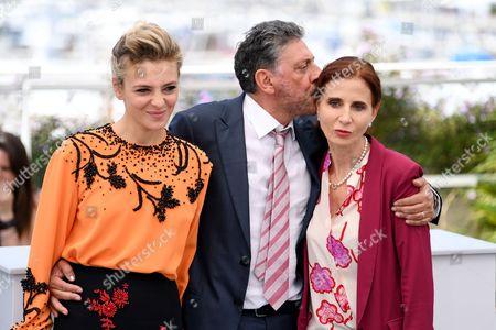 Jasmine Trinca, Sergio Castellitto and Margaret Mazzantini
