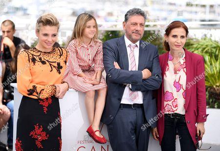 Jasmine Trinca, Nicole Centanni, Sergio Castellitto and Margaret Mazzantini