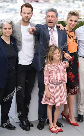 Viola Prestieri, Alessandro Borghi, Sergio Castellitto, Nicole Centanni and Jasmine Trinca