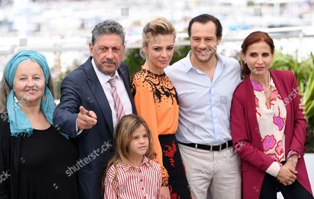 Hanna Schygulla, Sergio Castellitto, Nicole Centanni, Jasmine Trinca, Stefano Accorsi and Margaret Mazzantini