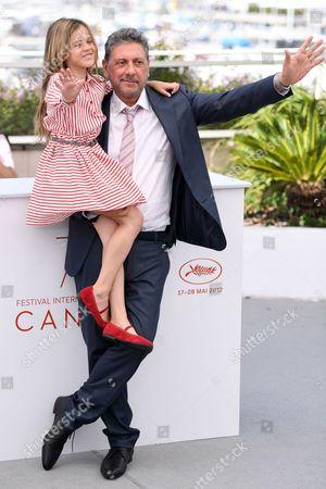 Nicole Centanni and Sergio Castellitto