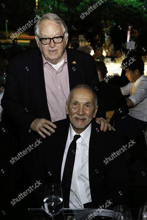 Dakin Matthews and Frank Langella