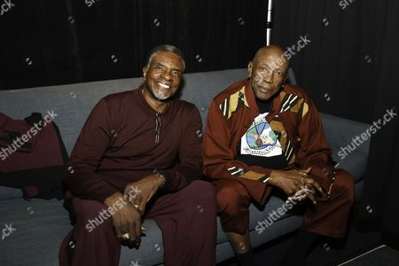 Keith David and Lou Gossett Jr Jr.