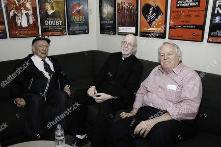 Alan Mandell, Bill Cain and Dakin Matthews