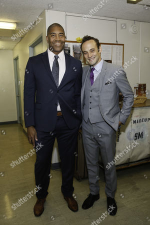 Stock Photo of Paul Oakley Stovall and Charlie Hofheimer