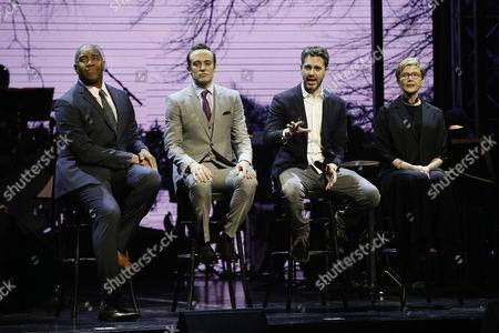 Stock Picture of Paul Oakley Stovall, Charlie Hofheimer, Thomas Sadoski and Annette Bening