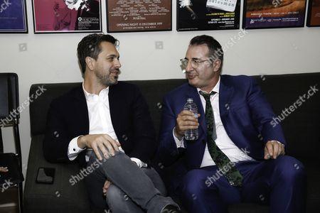 Thomas Sadoski and Jon Robin Baitz