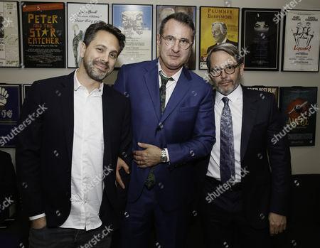 Stock Photo of Thomas Sadoski, Jon Robin Baitz and Matthew Broderick