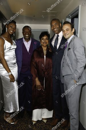 Aryana Williams, Keith David, Phylicia Rashad, Paul Oakley Stovall and Charlie Hofheimer