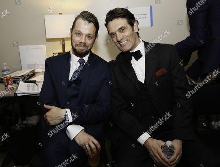 Benjamin Schrader and Anthony Crivello