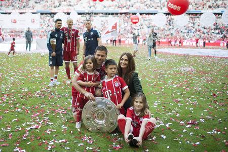 Editorial picture of Bundesliga: Bayern Munich vs SC Freiburg, Munich, Germany - 20 May 2017