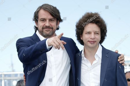 Stock Picture of Michel Franco and Lorenzo Vigas