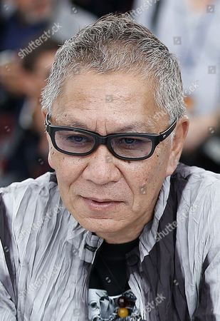 Japanese directorTakashi Miike and Producer Jeremy Thomas pose during the photocall for 'Mugen No Junin' (Blade of the Immortal) at the 70th annual Cannes Film Festival, in Cannes, France, 18 May 2017. The movie is presented out of competition at the festival which runs from 17 to 28 May.