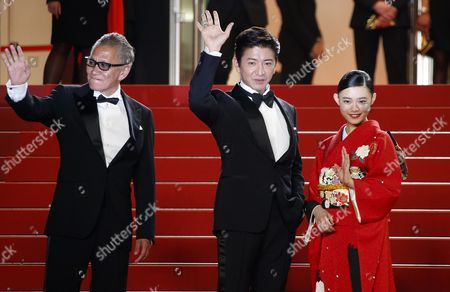 Editorial picture of Mugen No Junin Premiere - 70th Cannes Film Festival, France - 18 May 2017