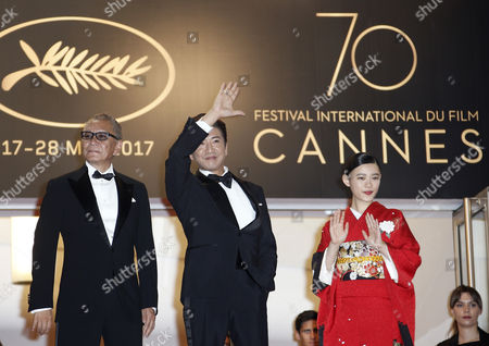 Editorial photo of Mugen No Junin Premiere - 70th Cannes Film Festival, France - 18 May 2017