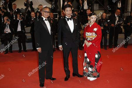 Takashi Miike, Hanna Sugisaki, Takuya Kimura