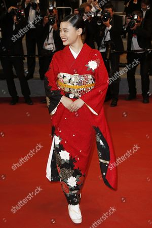 Editorial image of Mugen No Junin Premiere - 70th Cannes Film Festival, France - 18 May 2017