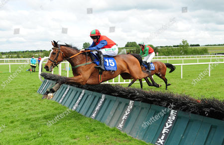 Stock Picture of LIMERICK KILGANER QUEEN and Rachael Blackmore win the Michael English Live at Limerick Handicap Hurdle. HEALY RACING