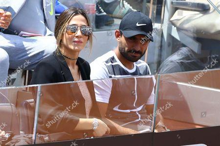 Juan Martin Del Potro's girlfriend Jimena Baron