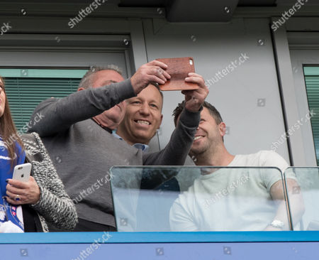 John Terry's Brother Paul Terry   during  the Final  Premier League match 0f the season between  Champions Chelsea and  Suderland played at  Stamford Bridge London  on  21st  May  2017