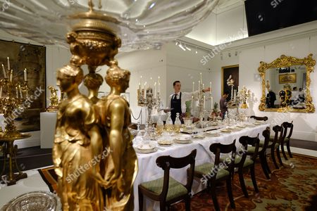 A collection of objects from the Belgravia home of Lord Ballyedmond are presented in the Sotheby's auction house sale which recalls the aristocratic London town house.
