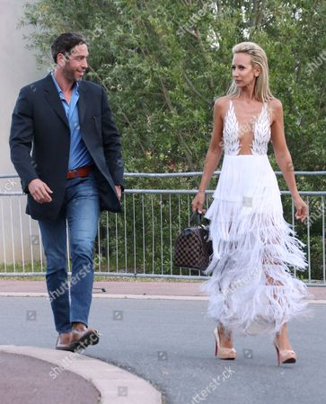 Stock Picture of Nick Loeb and Lady Victoria Hervey