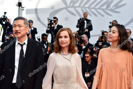 Hong Sang-soo, Isabelle Huppert and Kim Min-Hee