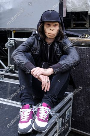 Editorial picture of Kid Noize in concert, Rouppe Square, Brussels, Belgium - 01 May 2017